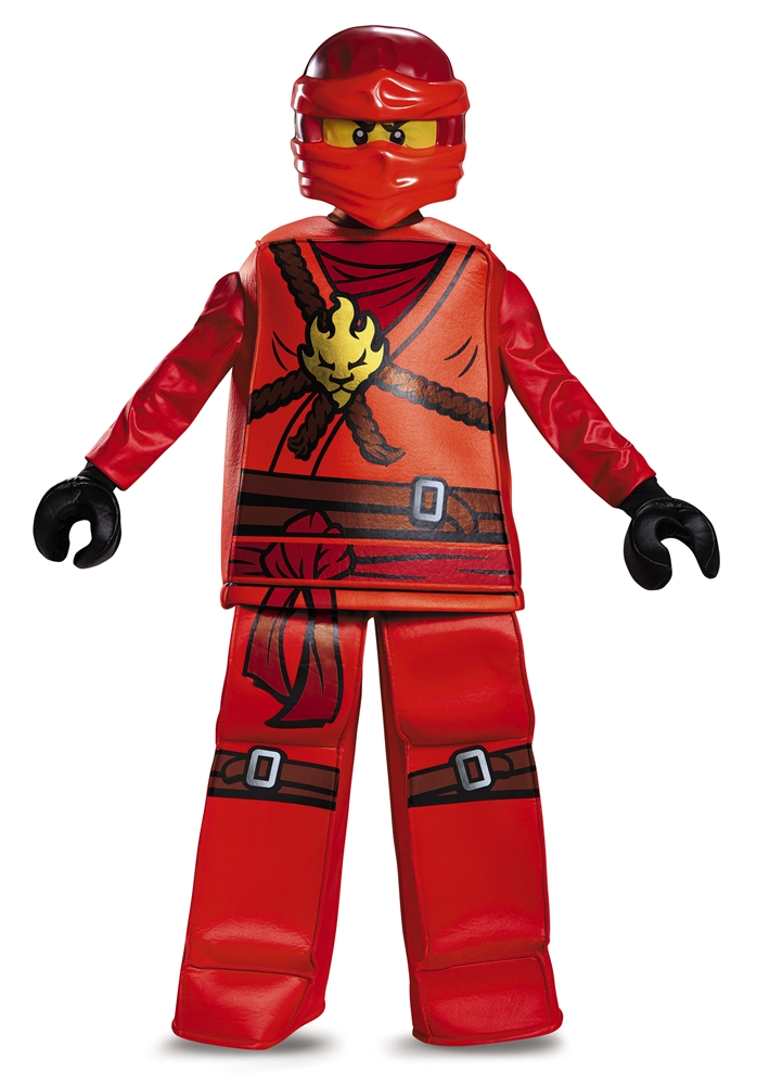 lego ninjago prestige kai child costume 375439. Black Bedroom Furniture Sets. Home Design Ideas