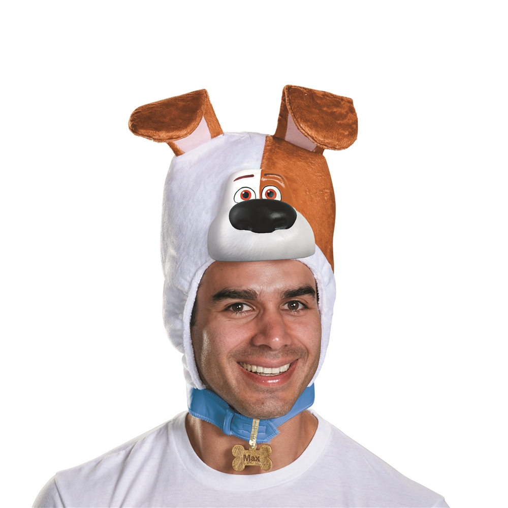 The Secret Life of Pets Max Adult Headpiece 11629