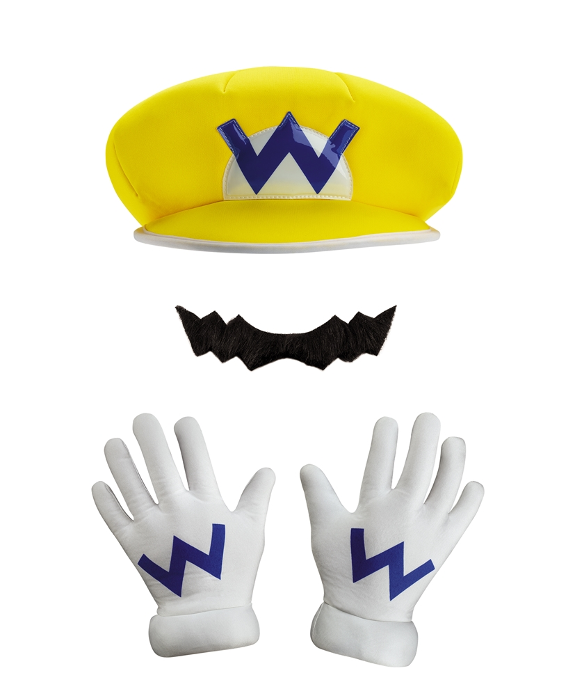 Super Mario Brothers Wario Adult Costume Kit ()