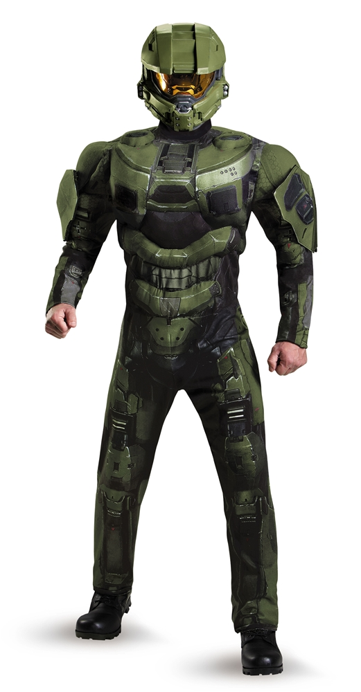 Halo Deluxe Master Chief Adult Mens Plus Size Costume 89986