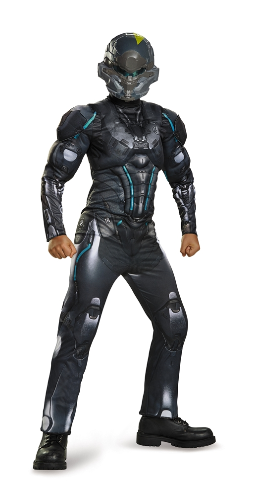 Halo Spartan Locke Muscle Child Costume (Halo Costume Child)