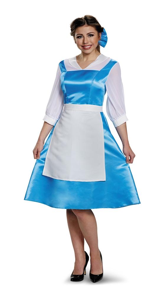 sc 1 st  Trendy Halloween & Belle Village Dress Adult Womens Costume - 376209 | trendyhalloween.com