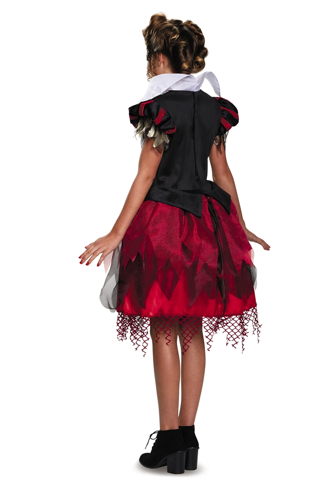 alice in wonderland halloween costumes tween red queen ...