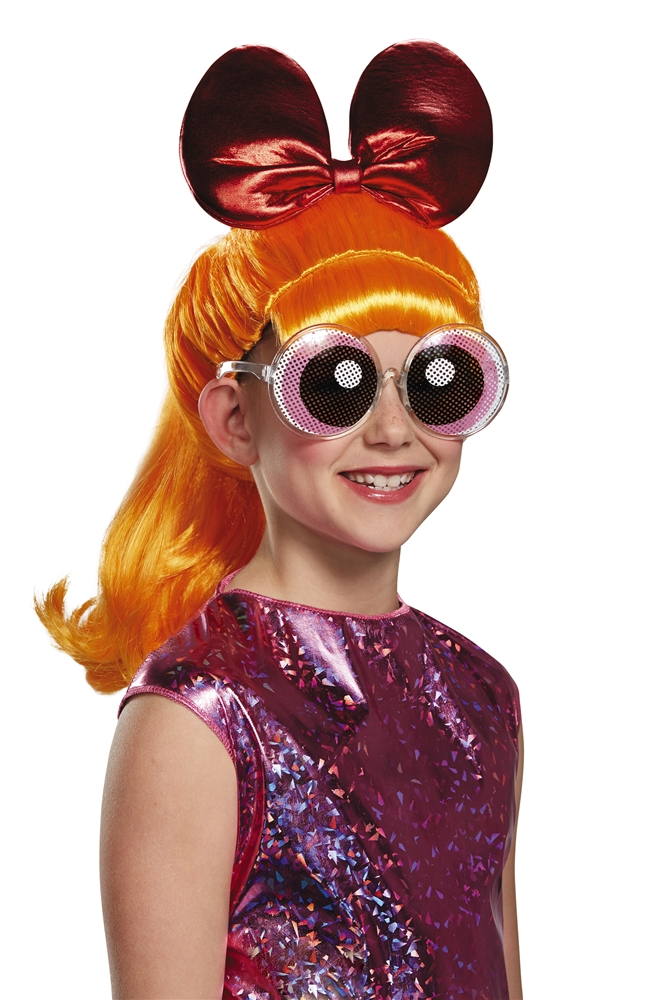 Powerpuff Girls Blossom Child Wig