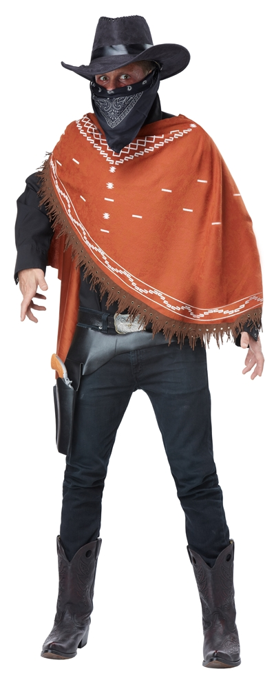 Gruesome Outlaw Cowboy Adult Mens Costume