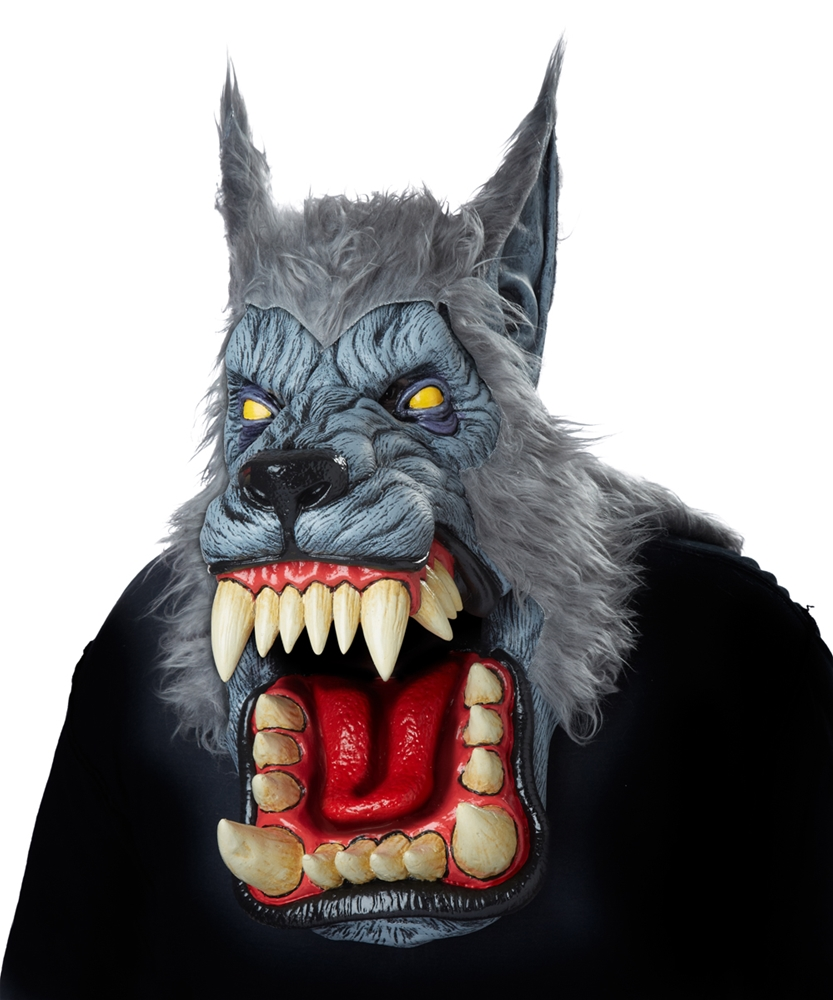 Lunar Psycho Wolf Ani-Motion Mask