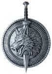 Wolf-Master-Shield-Sword-Set