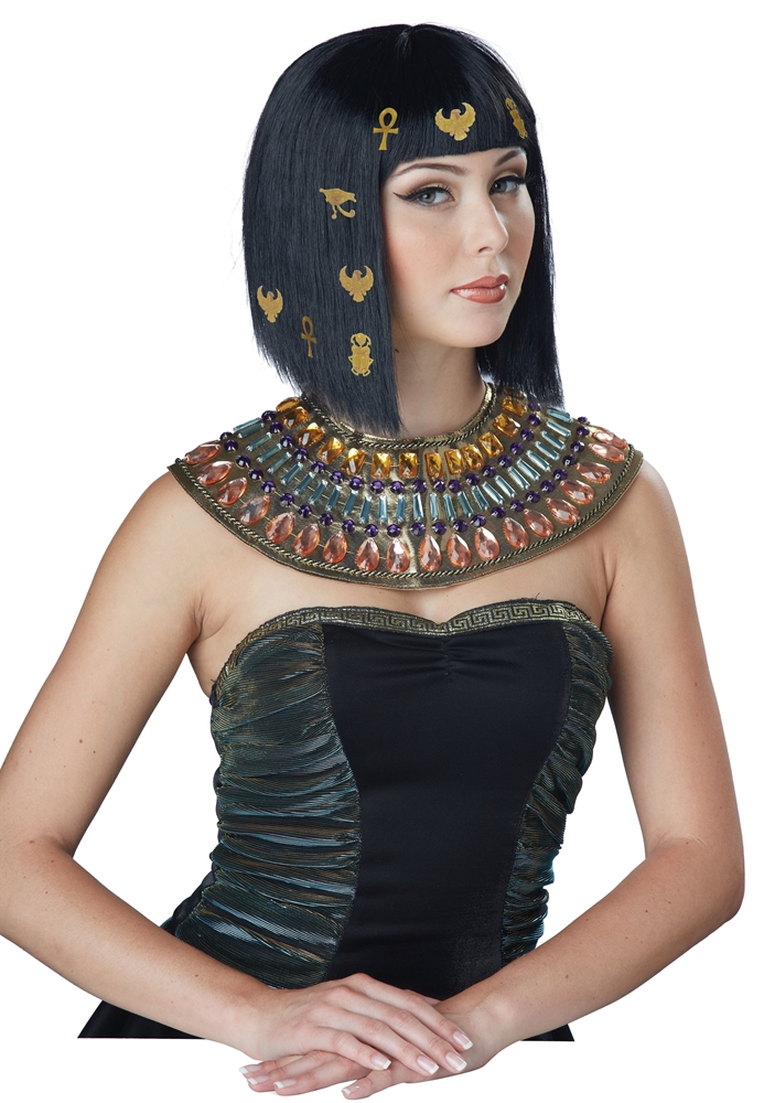 Hair-O-Glyphics Egyptian Wig