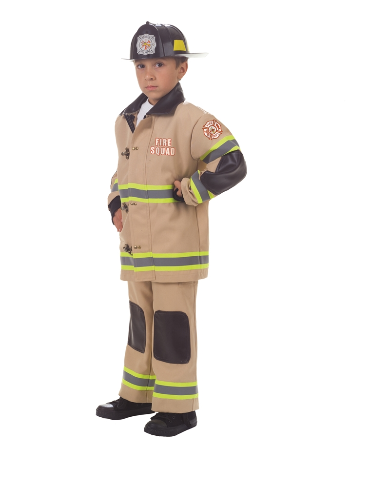 Rescue Firefighter Child Costume