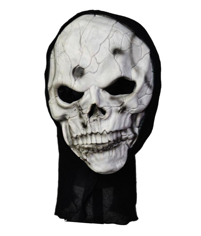 Frightening Grey Skull Mask