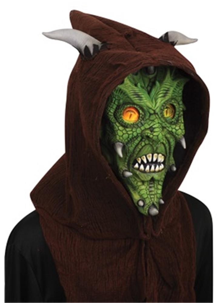 Lizard Hologram Hoodie Mask