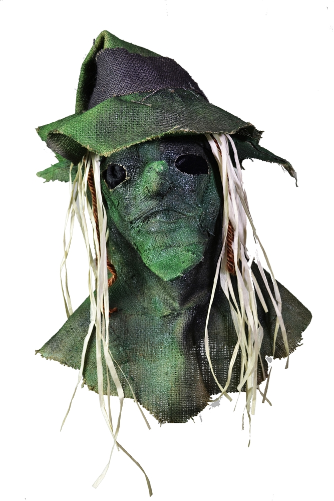 Burlap Witch Mask with Hat