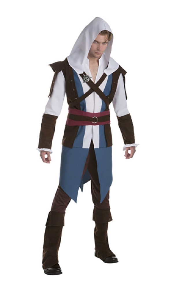 Assassin's Creed Classic Edward Adult Mens Costume