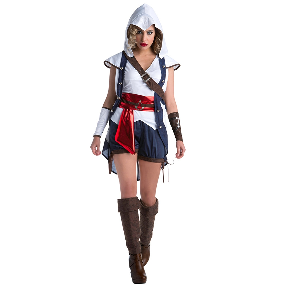 Assassin's Creed Classic Connor Adult Womens Costume