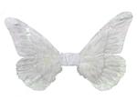 White-Butterfly-Wings-12in