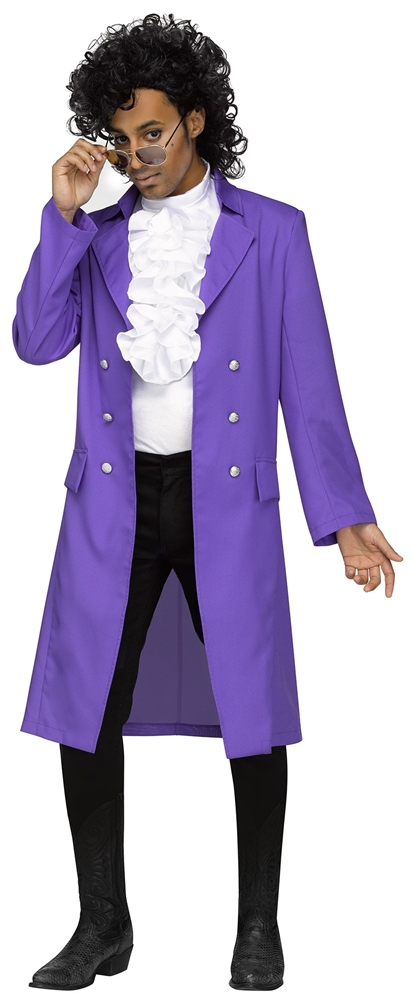 Purple Rain Prince Adult Mens Costume