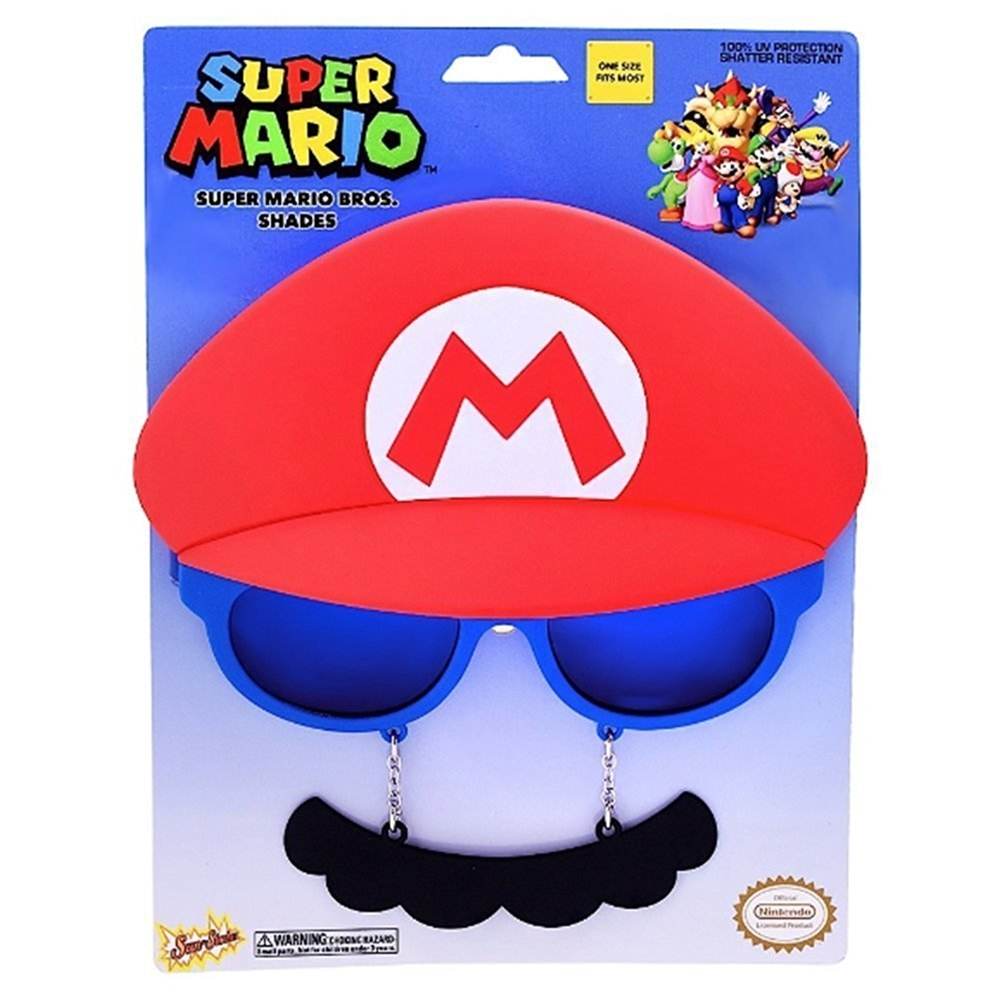 Super Mario Brothers Mario Sunglasses (Super Marios Brothers)