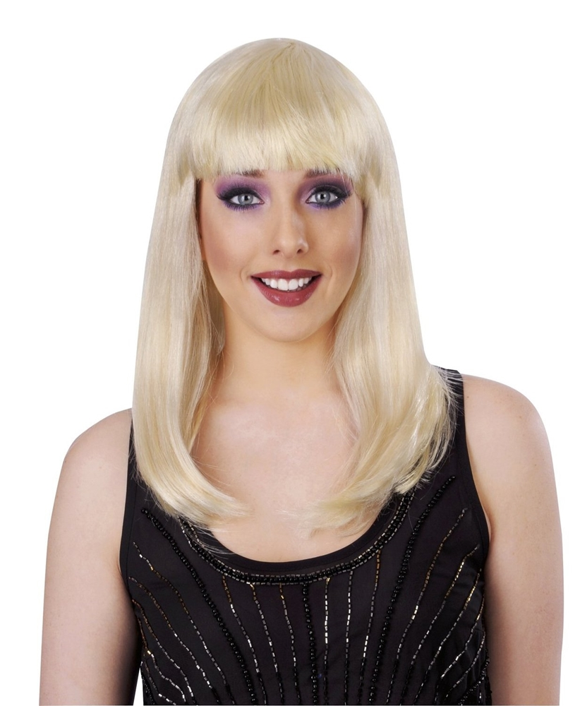 Blonde International Bombshell Deluxe Wig