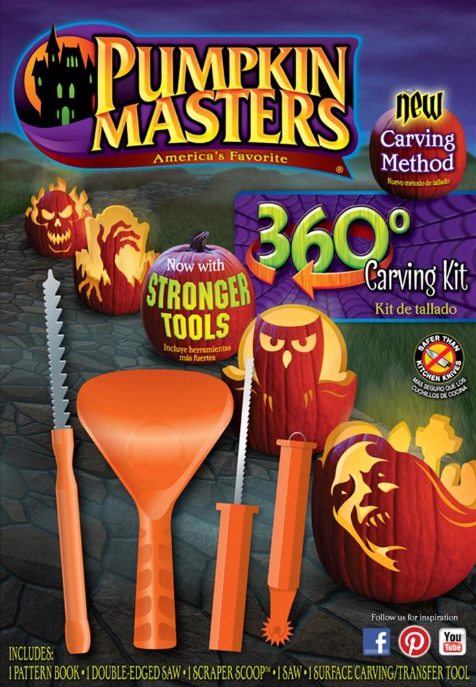 Pumpkin Master 360 Carving Kit CV3382