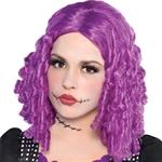 Damaged-Doll-Purple-Wig