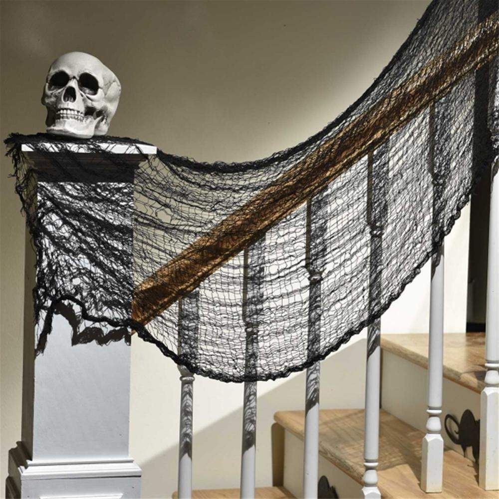 Black Halloween Creepy Cloth