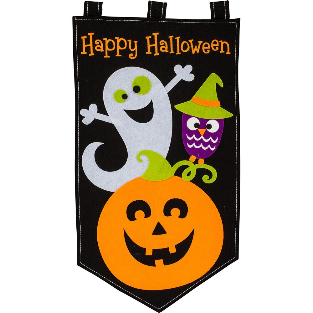 Family Friendly Halloween Felt Door Banner