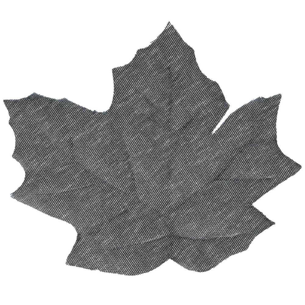 Boneyard Black Fabric Leaves 72ct