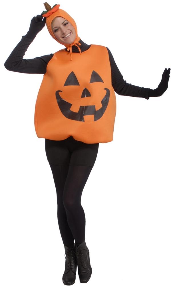 Jack-O-Lantern Tunic Adult Unisex Costume