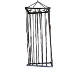 Life-Sized-Black-Cage-Prop