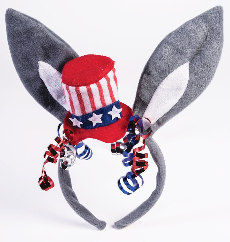 Democrat Donkey Patriotic Headband