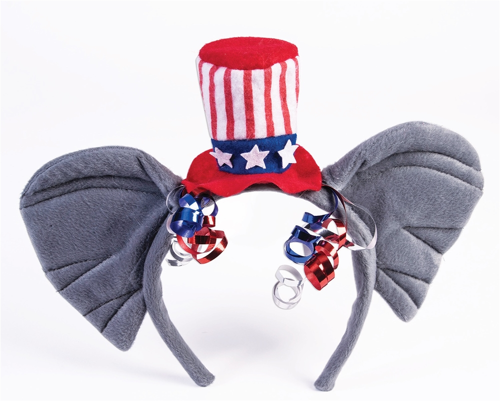 Republican Elephant Patriotic Headband
