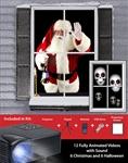Virtual-Christmas-and-Halloween-Holiday-Projector-Kit