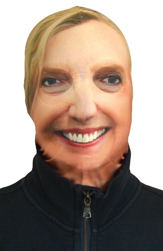 Hillary Clinton Sock Mask