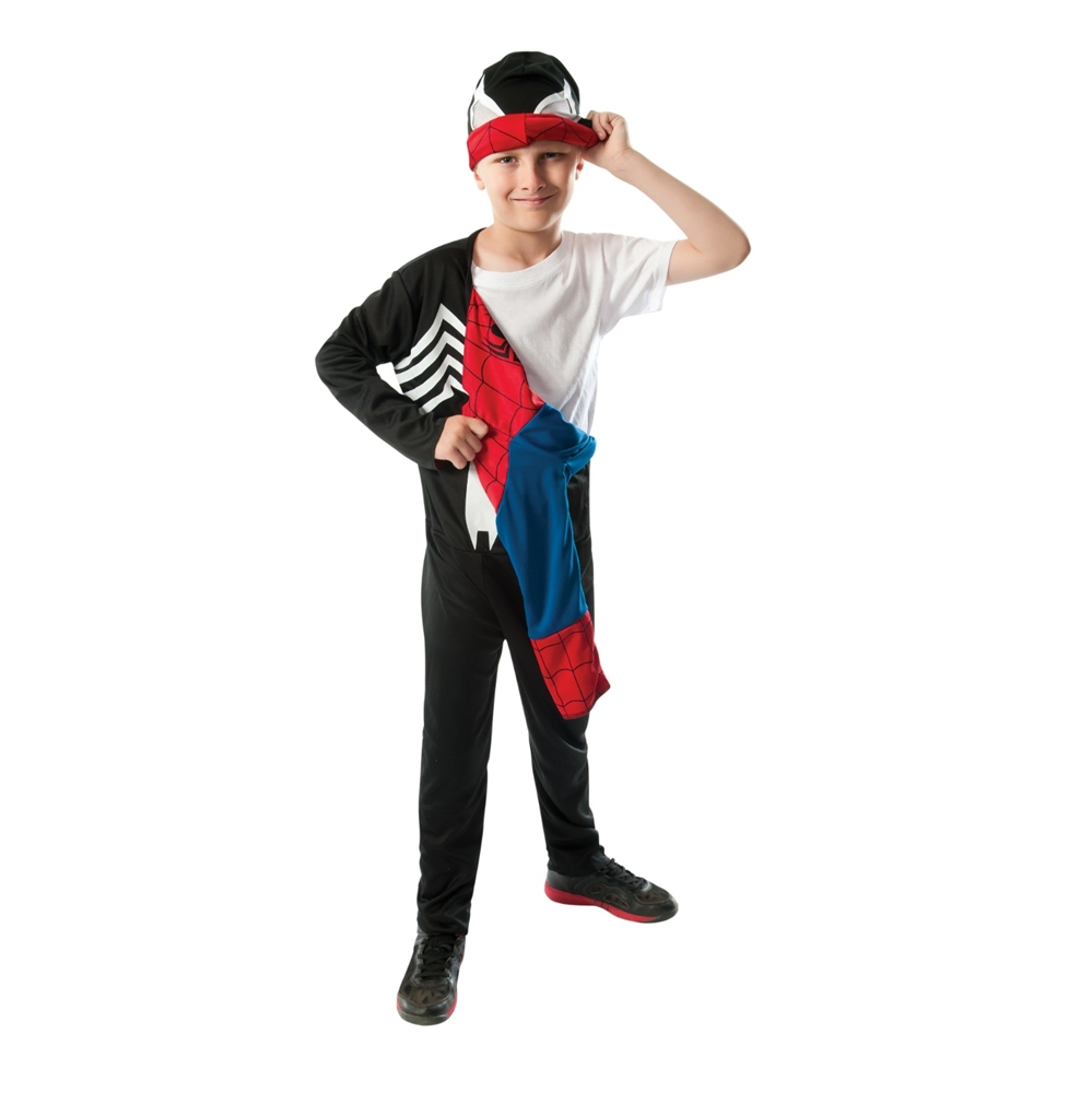 Spider-Man Black/Red Reversible Child Costume 880602