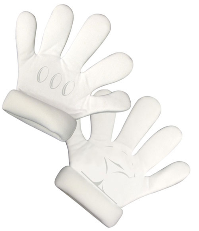 Mario Brothers Deluxe Child Gloves
