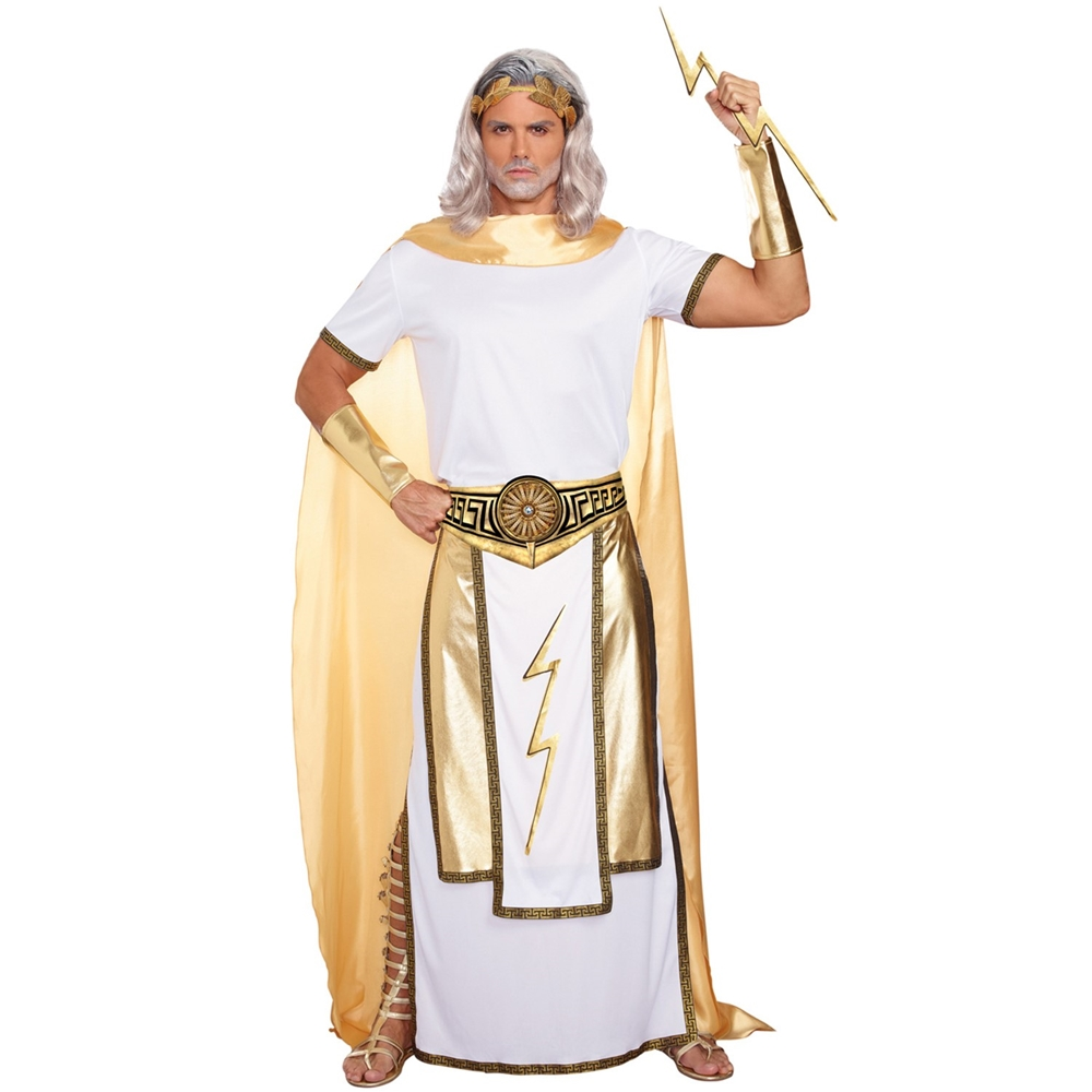 Zeus Greek God Adult Mens Costume