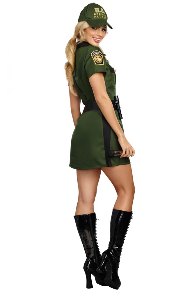 Border Patrol Agent Norma Swall Adult Womens Costume