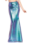 Iridescent-Mermaid-Skirt