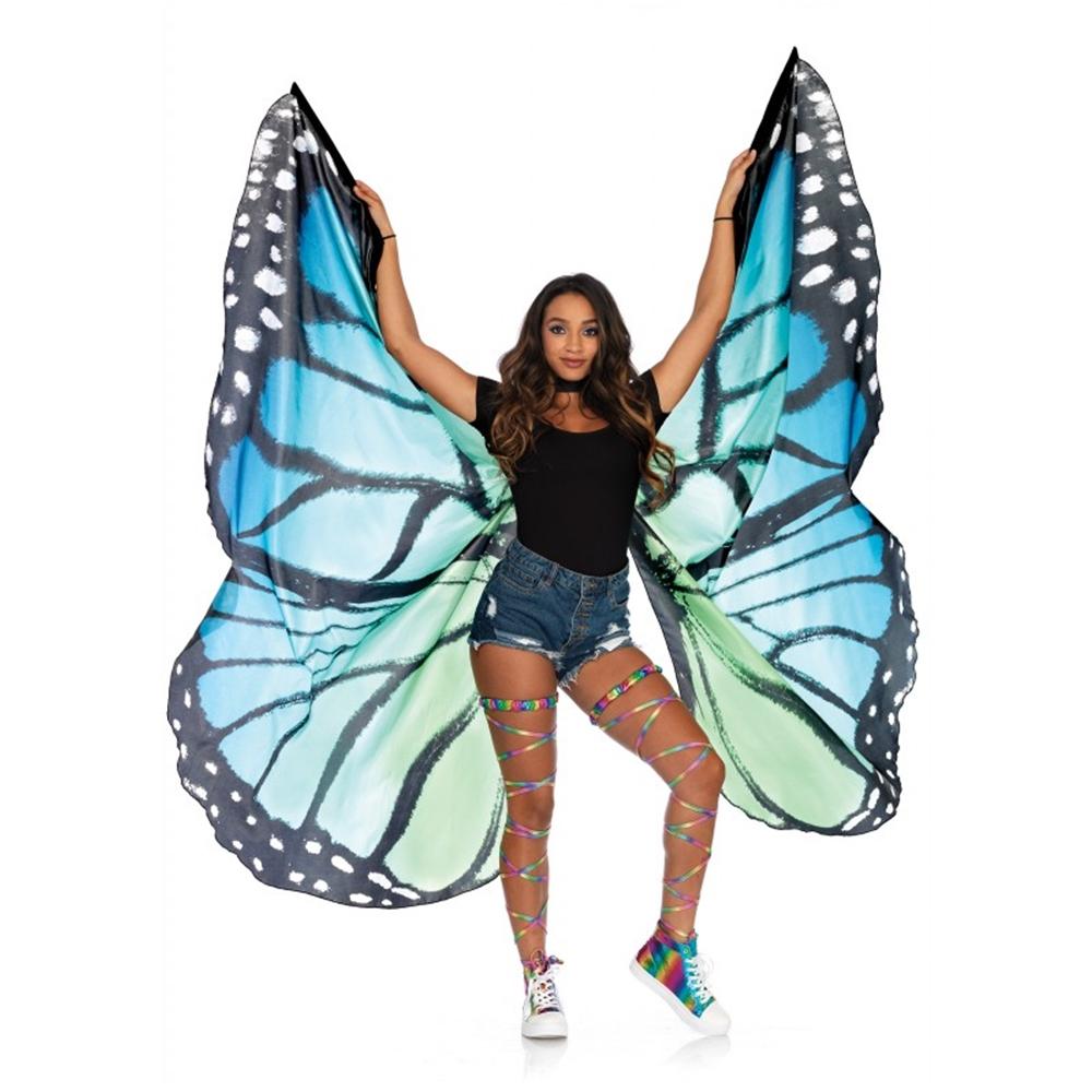 Black & Blue Butterfly Festival Wings