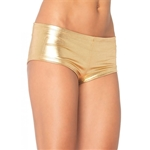 Gold-Lame-Adult-Booty-Shorts