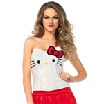 Hello-Kitty-Adult-Womens-Sequin-Bustier