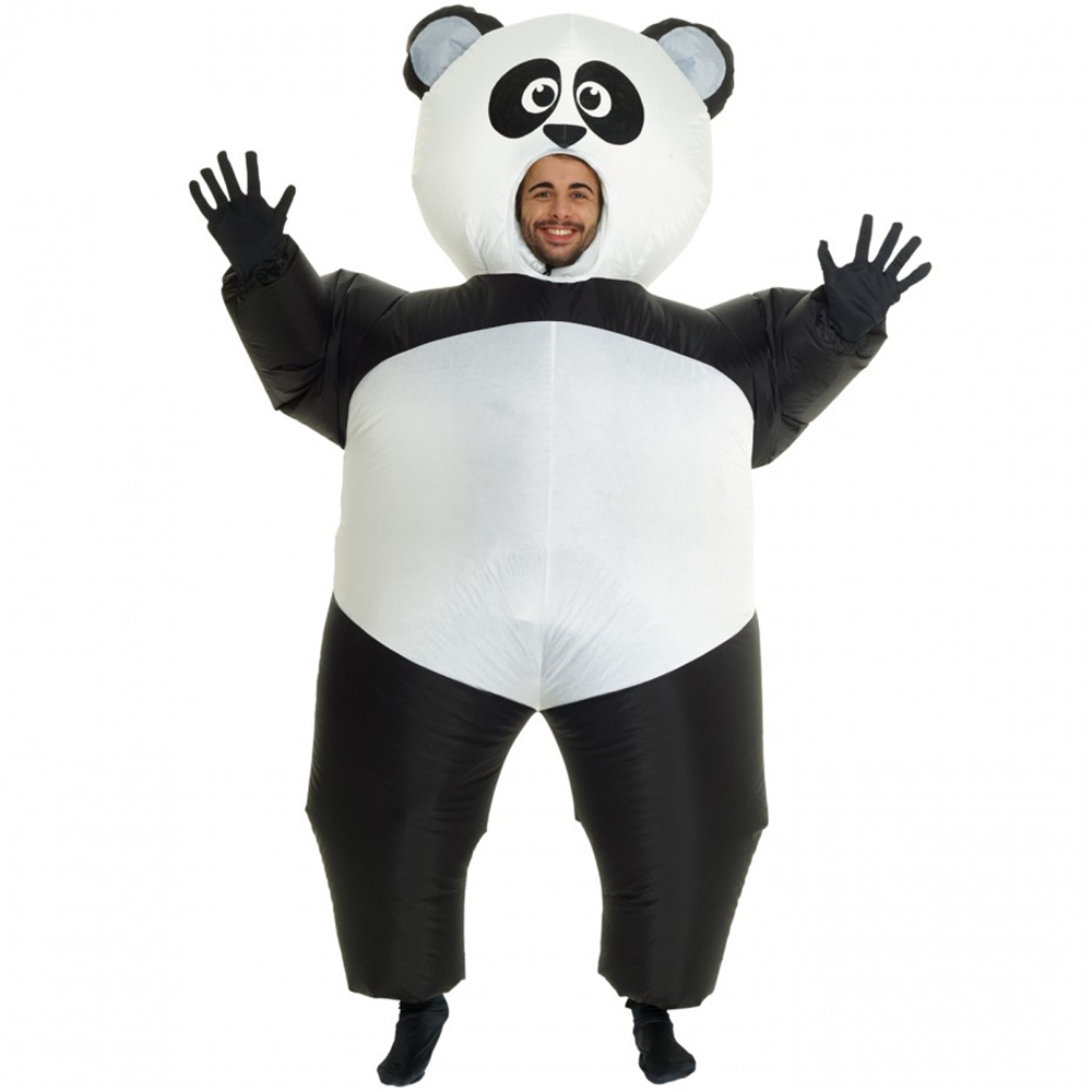 Giant Panda Inflatable Adult Unisex Costume