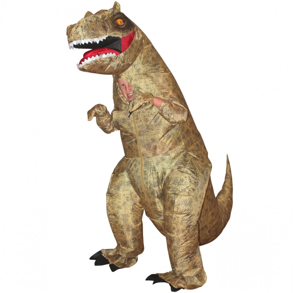 Giant T-Rex Inflatable Child Costume