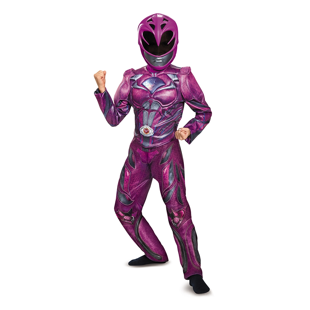 Power Rangers Movie Deluxe Pink Ranger Child Costume