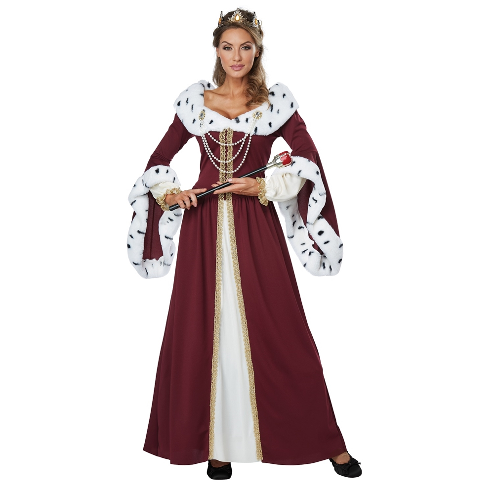 Royal Storybook Queen Adult Womens Costume