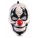 Black-White-Clown-Moving-Jaw-Half-Mask
