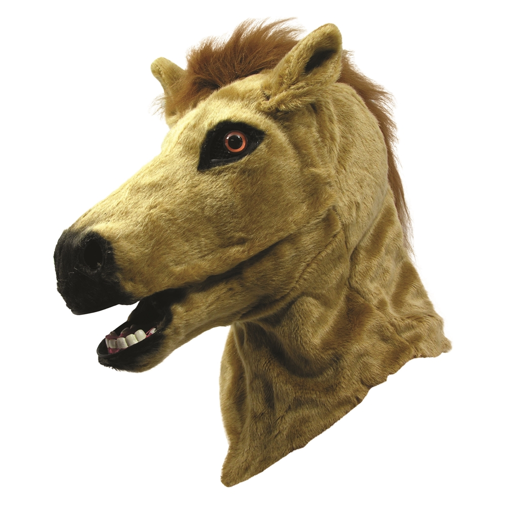 Horse Moving Mouth Mask