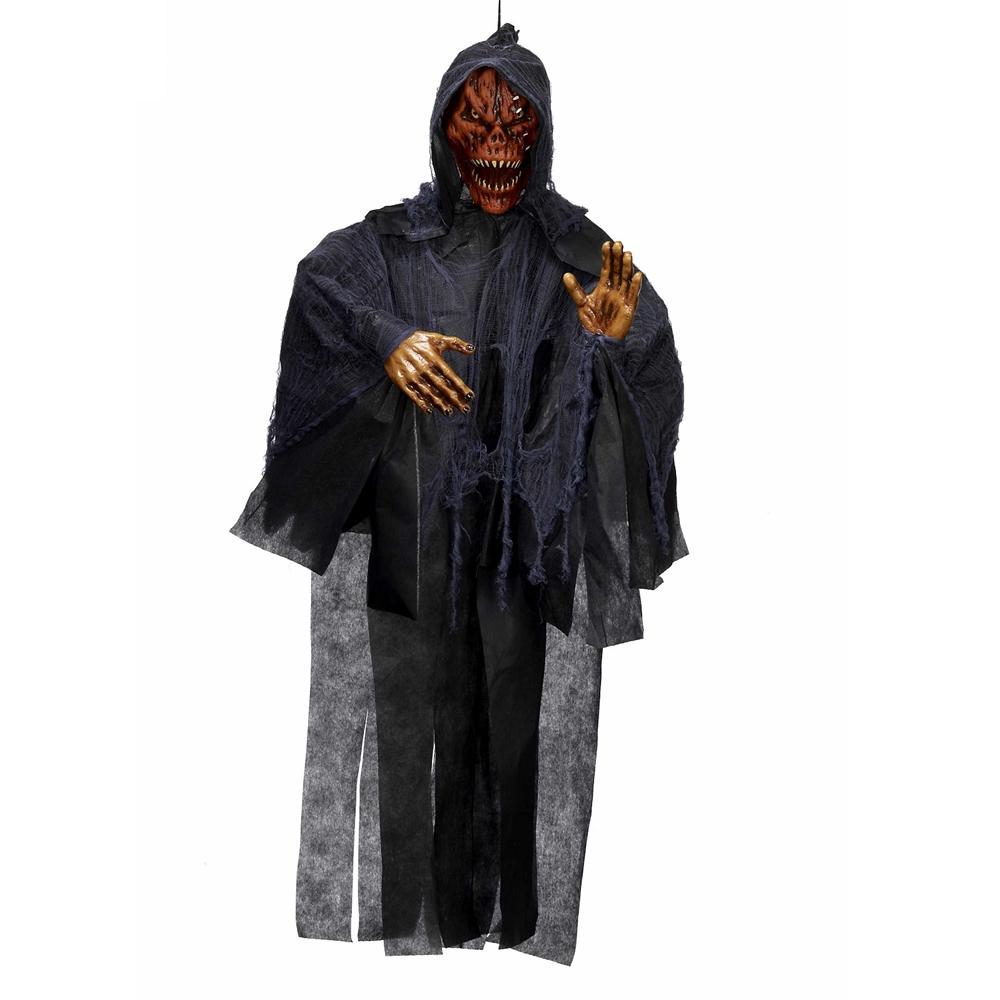 Rotten Pumpkin Reaper Hanging Prop 6ft