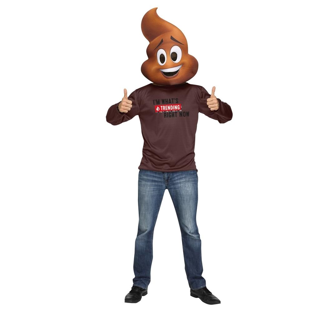 Www Halloween Decorating Ideas: Emoji Movie Poop Adult Unisex Costume