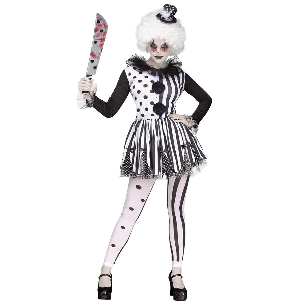 Killer Clown Adult Womens Costume